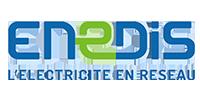 Logo Enedis l'électricité en réseau