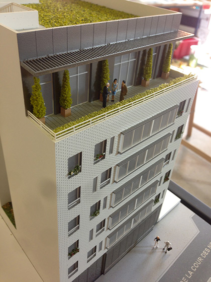 Maquette immobili re de r novation for Construire votre propre immeuble