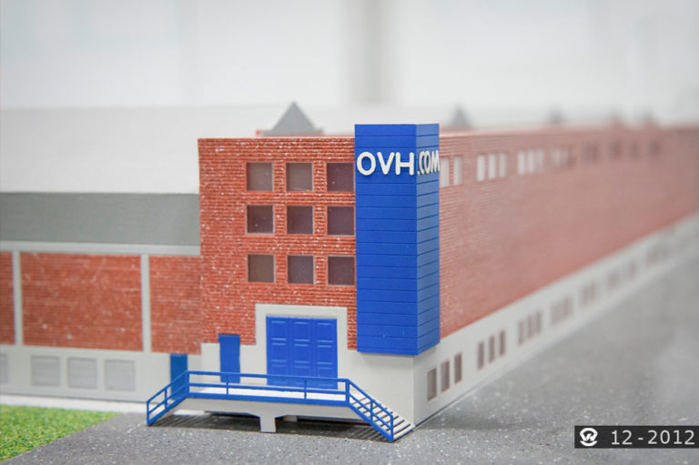 maquette immeuble OVH