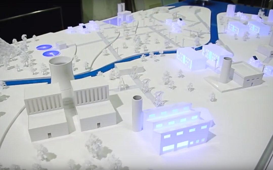 maquette animée projet COP21