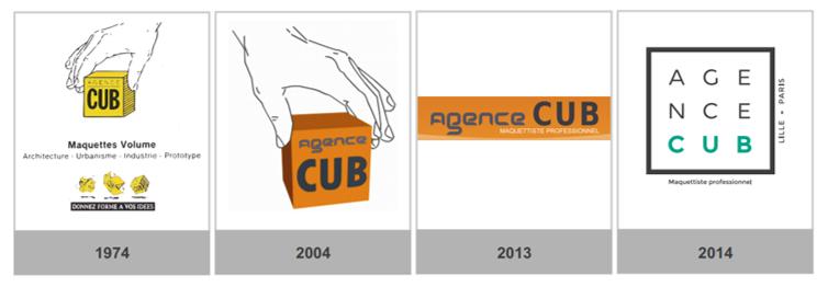 evolution logo agence cub