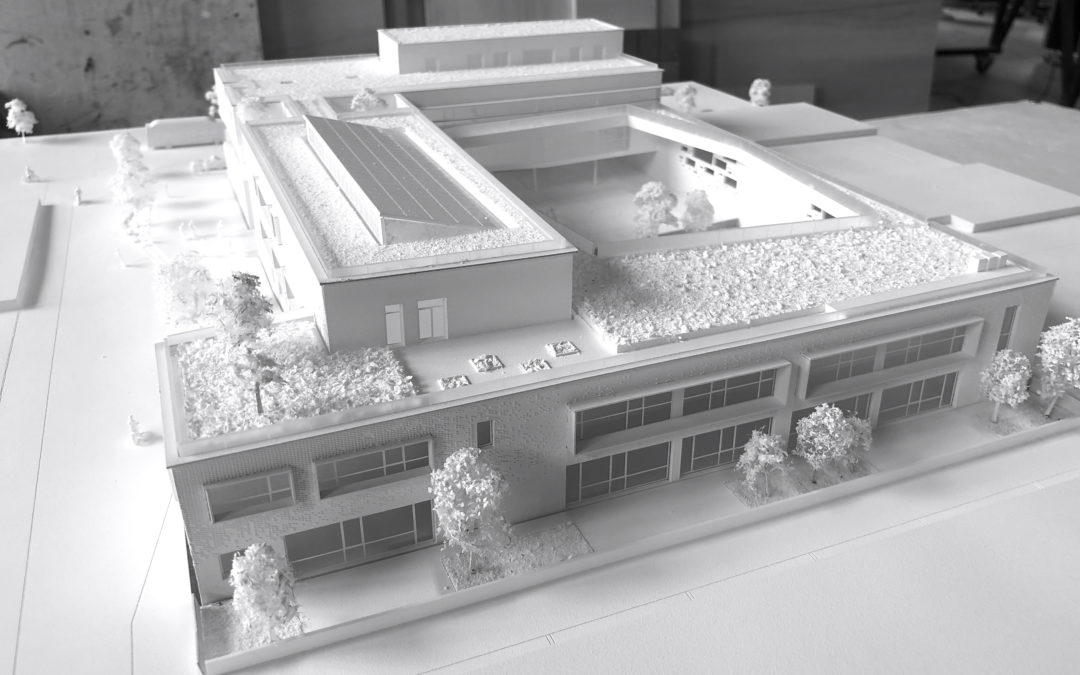 maquette blanche concours architecture agence cub
