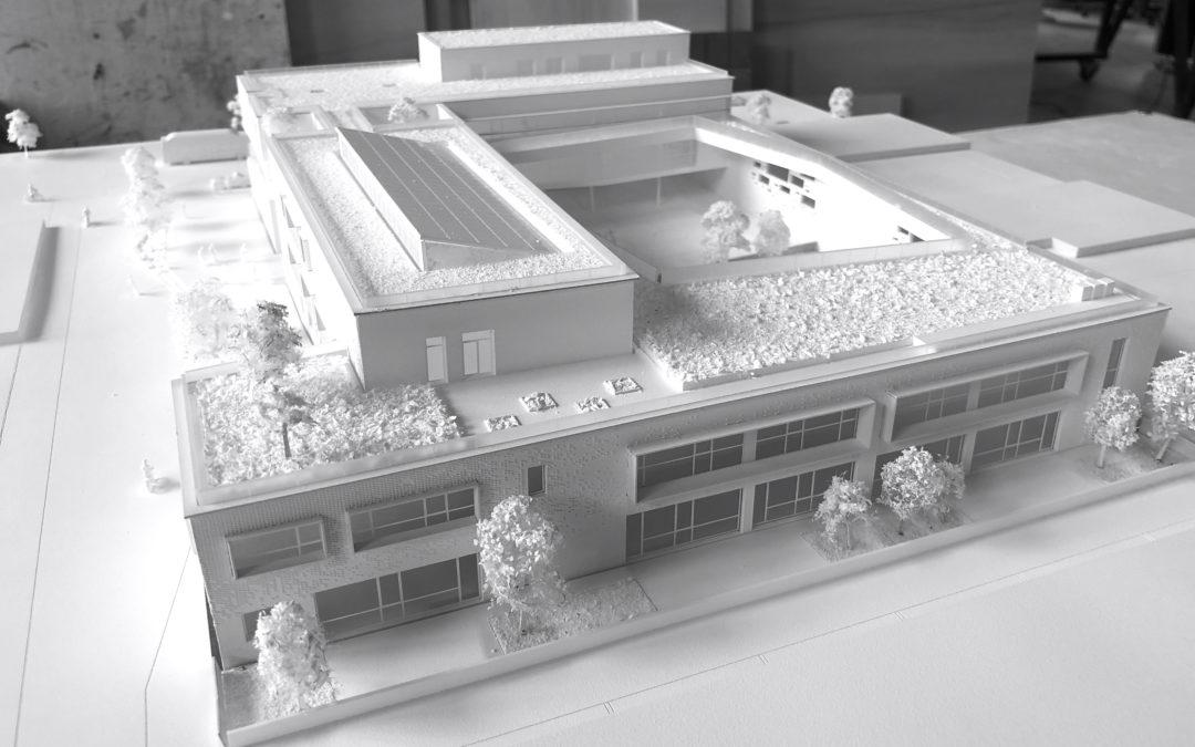 Maquette blanche, un concours réussi pour Epicuria Architectes