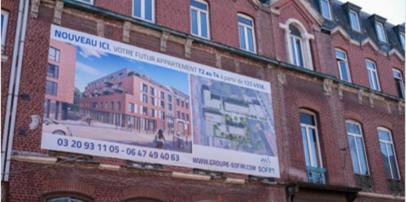 Un nouveau projet immobilier à Roubaix pour notre client SOFIM