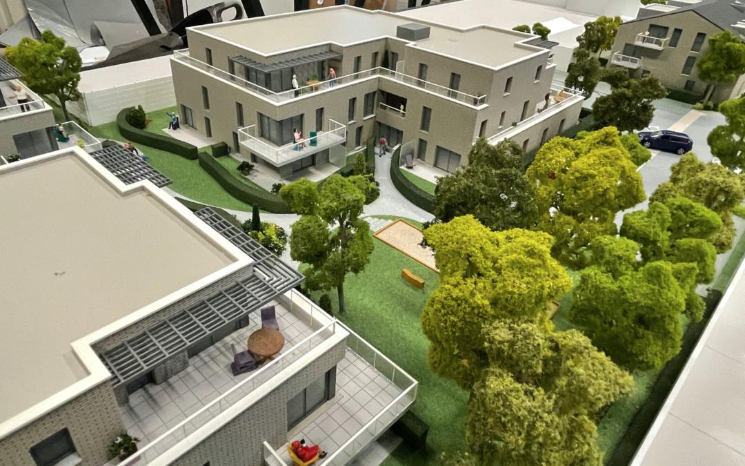 programme immobilier : maquette Lezennes